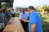 DOĞALGAZ - Başkan Uysal'a Derneklerden Kahvaltılı Teşekkür