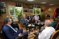 TOPTANCI HALİ - Başkan Yaşar, Hal Esnafıyla Buluştu