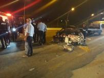 YıLDıRıM BEYAZıT - Başkent'te Trafik Kazası Açıklaması 1 Ölü, 4 Yaralı