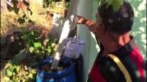 KALP MASAJI - Beykoz'da Bahçe Duvarı Çöktü Açıklaması 1 Ölü, 1 Yaralı
