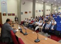 EĞİTİM MERKEZİ - ERÜ'de '15 Temmuz Darbe Girişimi Ve Demokrasi Mücadelesi' Konulu Konferans Düzenlendi