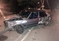 Erzincan'da Trafik Kazası Açıklaması 1 Yaralı