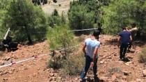 Gaziantep'te Roket Parçası Olduğu Düşünülen Enkaz Bulunması