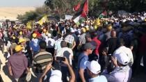LUT GÖLÜ - Han El-Ahmer'de İsrail Protestosu