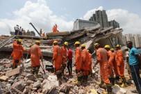 YENI DELHI - Hindistan'da Bina Çöktü Açıklaması 3 Ölü