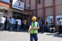 ACIL SERVIS - İşçiler Akın Akın Hastaneye Gidiyor, Sayı Artıyor