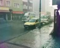 METEOROLOJI - İstanbul'da Dolu Yağışı