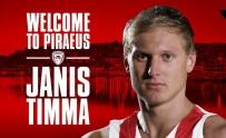 OLYMPIAKOS - Janis Timma Olympiakos'ta