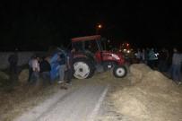 Kamyon, Traktöre Çarptı Açıklaması 1 Ölü, 2 Yaralı