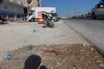 MOTOSİKLET SÜRÜCÜSÜ - Motosiklet Yayaya Çarptı Açıklaması 1'İ Ağır 3 Yaralı