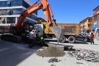 Nerim Tombul Caddesinde Altyapı Çalışmaları Devam Ediyor