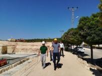 YÜZME HAVUZU - Nesibe Aydın'da Çalışmalar Sürüyor