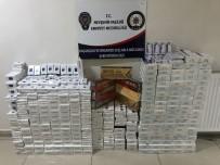 Nevşehir'de 2 Bin 650 Paket Kaçak Sigara Ele Geçirildi