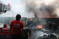 FABRIKA - Plastik Fabrikasında Yangın