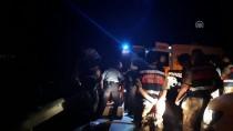 Samsun'da Bariyerlere Çarpan Otomobil Alev Aldı Açıklaması 3 Ölü