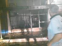GAZ SIKIŞMASI - Yahyalı'da Dürümcü Dükkanında Patlama