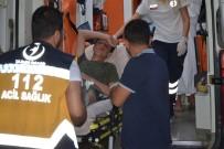 SOLUNUM YETMEZLİĞİ - Yaralı Göçmenler Hastaneye Sevk Edildi