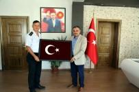 Yüzbaşı Mandar'dan Başkan Cabbar'a Veda Ziyaret