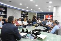 BASIN MENSUPLARI - Başkan Dursun Ay Yağmurun Bilançosunu Açıkladı