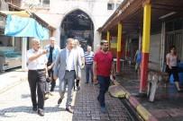 ÇANKAYA MAHALLESİ - Başkan Pamuk, Akdeniz Esnafının Taleplerini Dinledi