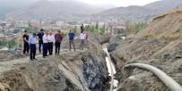 İÇME SUYU - Başkan Vekili Epcim, İçme Suyu Çalışmasını Denetledi