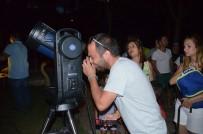 Bilim Parkında 'Gökyüzü Gözlem' Etkinliği Düzenlendi