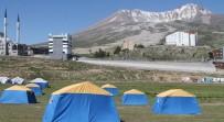 Erciyes'teki Çadır Kamplara Yoğun İlgi