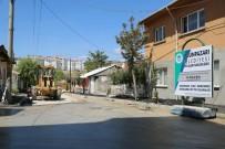 KAZıM KURT - Erenköy'ün 40 Sokağında Yol Yapım Ve Onarım Çalışması