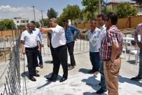 YUNUSEMRE - Fevzi Çakmak Taziye Evi'nde Çalışmalar Sürüyor