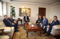 TÜRKİYE TAŞKÖMÜRÜ KURUMU - GMİS'ten Enerji Bakanı Fatih Dönmez'e Ziyaret
