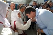 MENDERES TÜREL - Hacı Adayları Kutsal Topraklara Uğurlandı