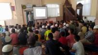 DERNEK BAŞKANI - Kur'an Kursu Öğrencilerine Bağımlılıkla Mücadele Anlatıldı