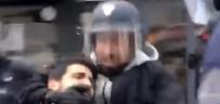Macron'un Danışmanı Polis Kılığında Eylemci Dövmüş