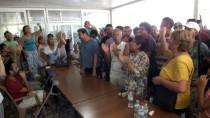 PROTESTO - Mersin'de ÇED Bilgilendirme Toplantısında Gerginlik