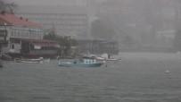 SAĞANAK YAĞIŞ - Meteorolojinin Uyarılarının Ardından Zonguldak'ta Kuvvetli Sağanak Etkili Oldu