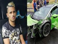 MİLLİ FUTBOLCU - Milli futbolcu Serdar Gürler kaza geçirdi