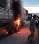 KAMYON ŞOFÖRÜ - Sürücülerin Alevlerle İmtihanı