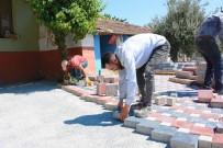 KALDIRIMLAR - Torbalı'da 'Engelsiz Yollar, Kaldırımlar Ve Sosyal Alanlar' Projesi