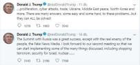 Trump Açıklaması 'Rusya'yla İkinci Toplantımızı Sabırsızlıkla Bekliyorum''