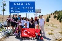 HALKALı - Türk Kadının Zaferi Bisiklet Turu' Malatya'da