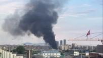 GÜVENLİK ÖNLEMİ - Zeytinburnu'nda Korkutan Yangın