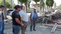 ÖĞRETMENEVI - Ağrı Milli Eğitim Müdürü Turan, İnşaatları Denetledi