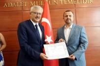 İBRAHIM AYDıN - Antalya Milletvekilleri Mazbatalarını Aldı