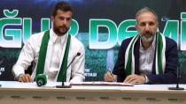 UĞUR DEMİROK - Atiker Konyaspor, Uğur Demirok İle Sözleşme İmzaladı
