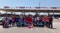 KAPIKULE SINIR KAPISI - Avrupa Üçüncüsü Judoculara Sınırda Karşılama