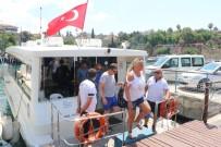 YAZ MEVSİMİ - Deniz Otobüsleri 4 Yılda 120 Bin Yolcu Taşıdı