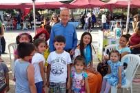Dinar'daki Yöresel Ürünler Pazarı Yoğun İlgi Gördü