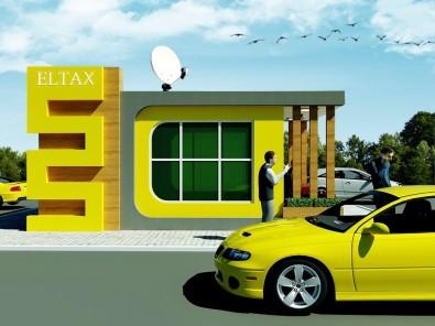 Elazığ'a Modern Taksi Durakları