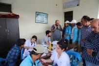 SAĞLIK TARAMASI - İşçilere Önce Sağlık Taraması Ardından İlk Yardım Eğitimi