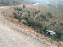 POLİS ARACI - Kaza Haberine Giden İHA Muhabiri Kaza Yaptı